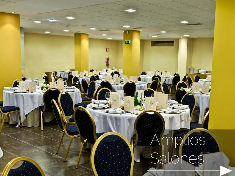 Amplios salones para eventos en Oviedo