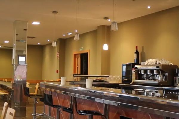 Barra del bar - cafetería